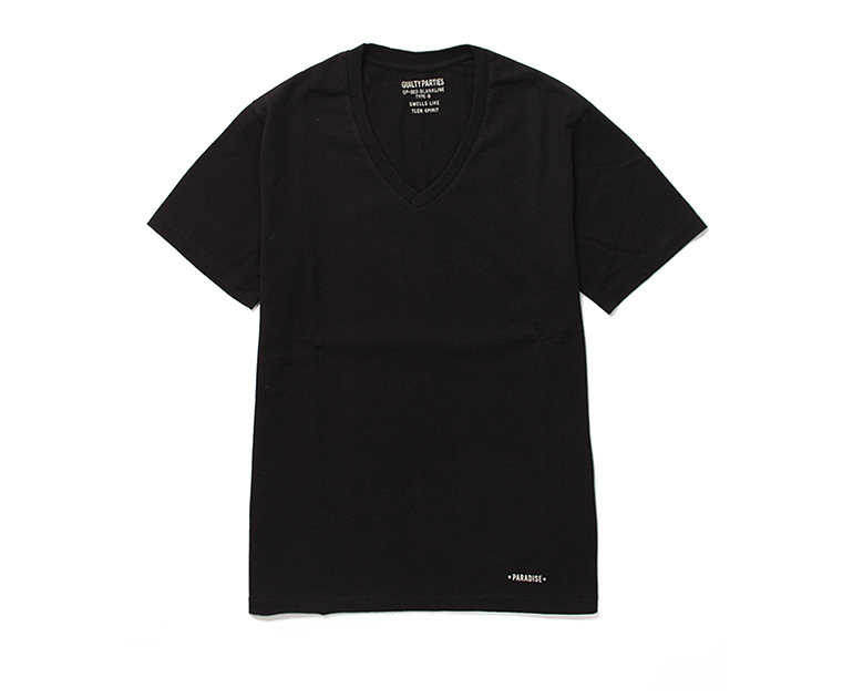 GP-003-BLANKLINE-V-NECK-BLK