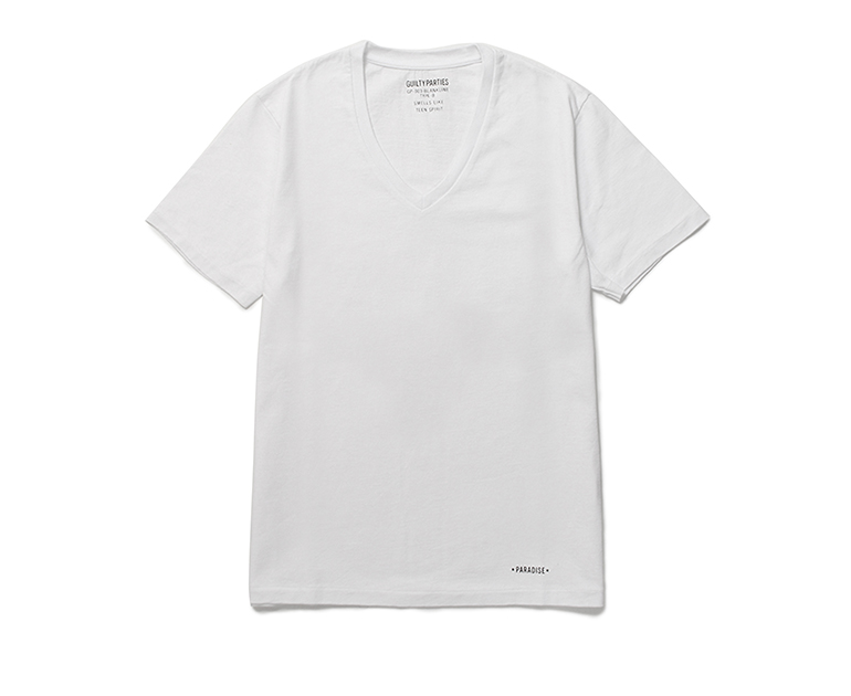 GP-003-BLANKLINE-V-NECK-WHT